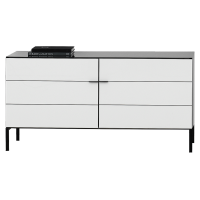 EH CRYSTAL UTH Two Doors High TV Unit