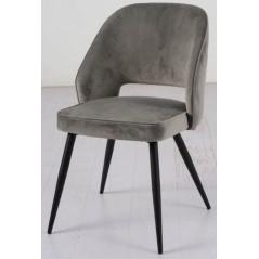 BA SUTA Velet Grey Chair