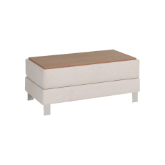 EH City Corner Pouf with Coffee Table
