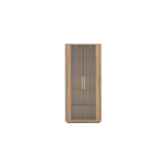 EH Raum Side-Cabinet Module with Glass Doors