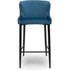 FP Malmo Blue Retro Bar Stool