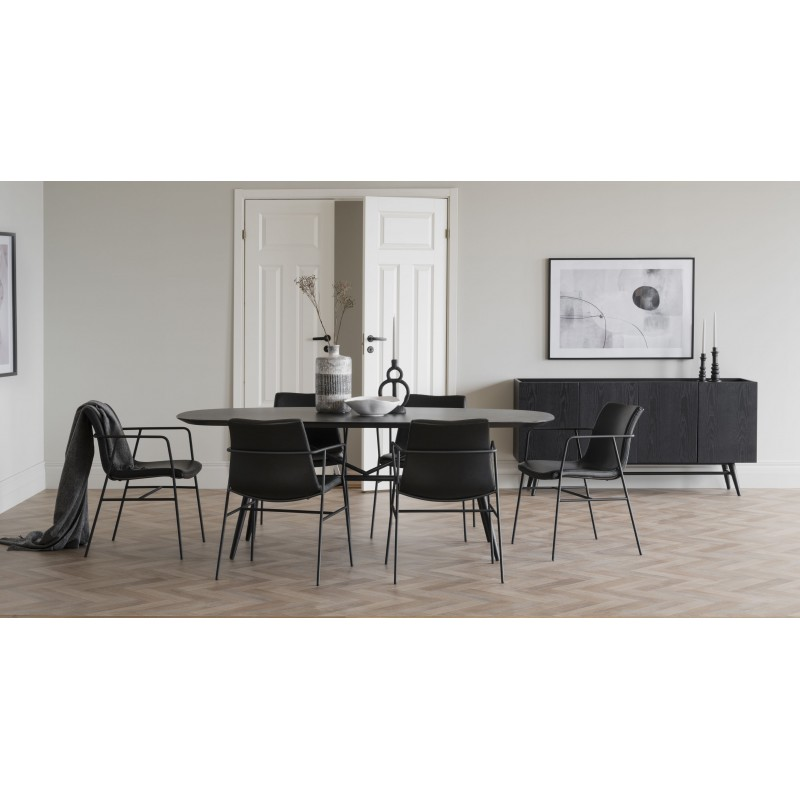 RO S49 Retro Ceramic Dining Table
