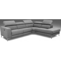VESPASIAN Power Recliner Corner Sofa FABRIC