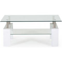 VL Reno White Coffee Table