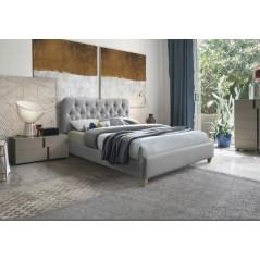 FP Suz Grey Modern Bed