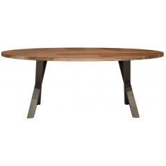Zi 200 Daytona Oval Solid Wood Table