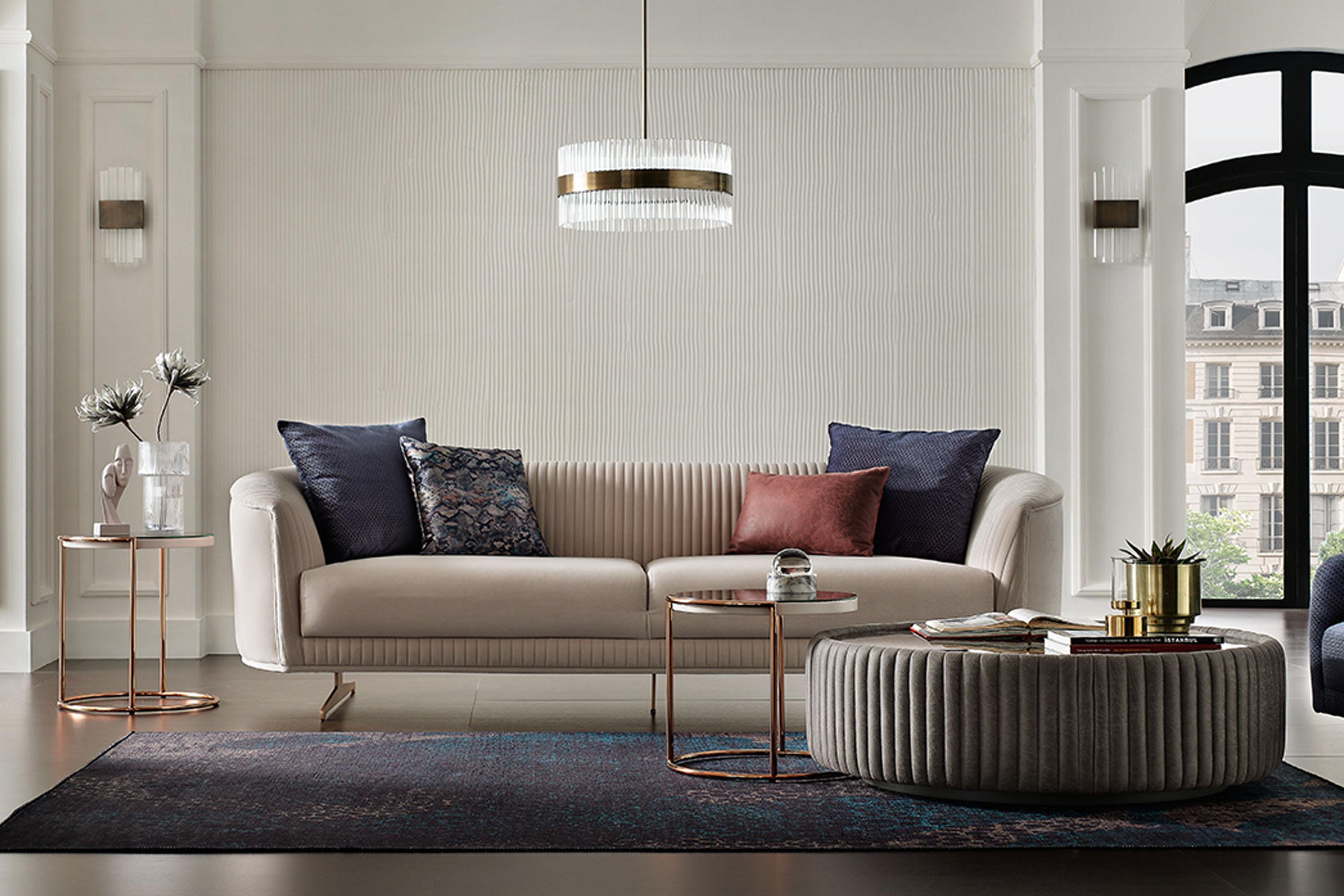 Trendy sofas