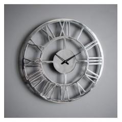 GA Pavia Large Wall Clock Polished Aluminium