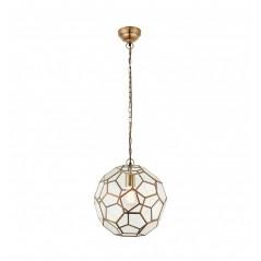 GA Miele 1 Pendant Light Antique Brass