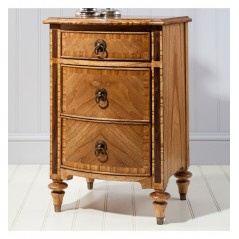 GA Spire 3 Drawer Bedside Cabinet