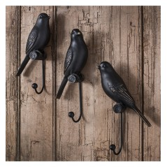 GA Avery Resin Birds (Set of 3)