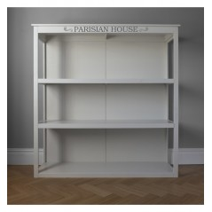 GA White Floor Standing Shelf Unit