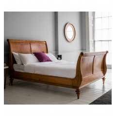 GA Spire 6' High End Sleigh Bed