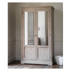 GA Mustique 2 Mirror Door Wardrobe