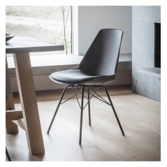 GA Finchley Chair Black (4pk)