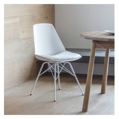 GA Finchley Chair White (4pk)