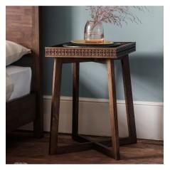 GA Boho Retreat Bedside Table
