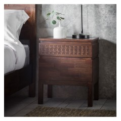 GA Boho Retreat Bedside 2 Drawer Chest