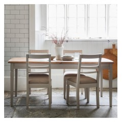 GA Bronte Extending Dining Table Taupe