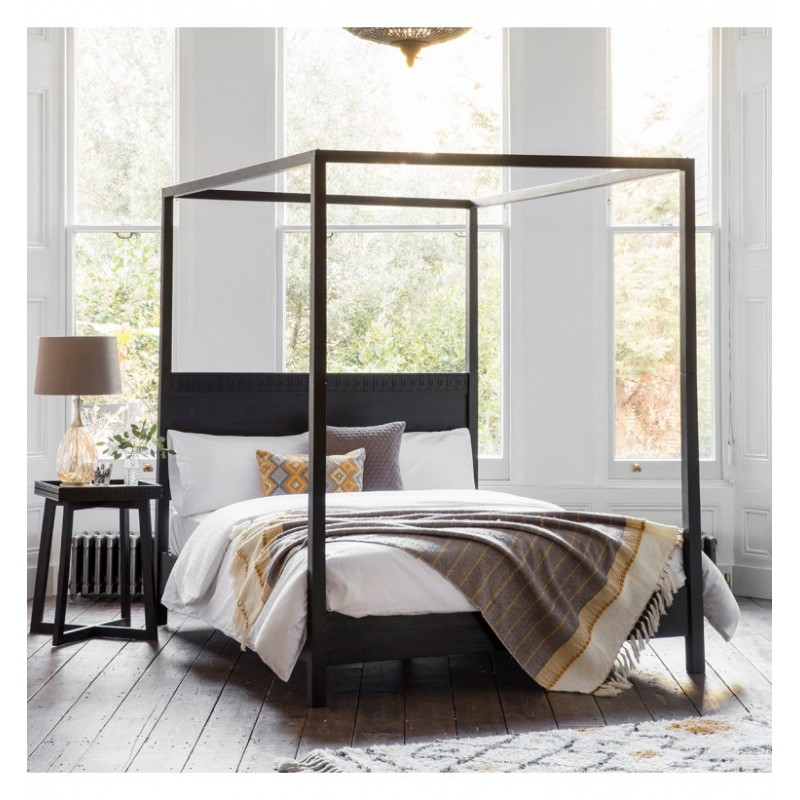 GA Boho Boutique 4 Poster 5' Bed