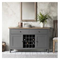 GA Cookham Large Sideboard Grey