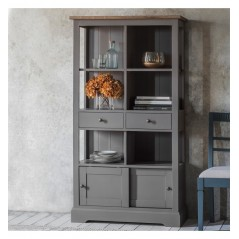 GA Cookham Bookcase Grey