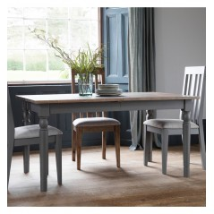 GA Cookham Extending Dining Table Grey