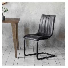 GA Edington Grey Chair (2pk)