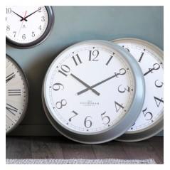 GA Orville Clock Fossil Grey