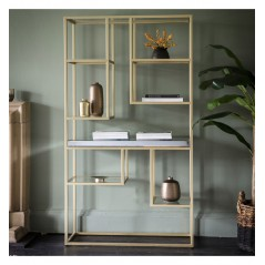 GA Pippard Open Display Unit Champagne