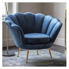 GA Rivello Armchair Inky Blue