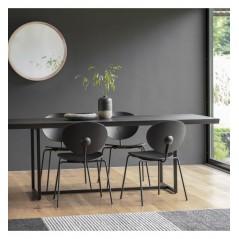 GA Forden Dining Table Black