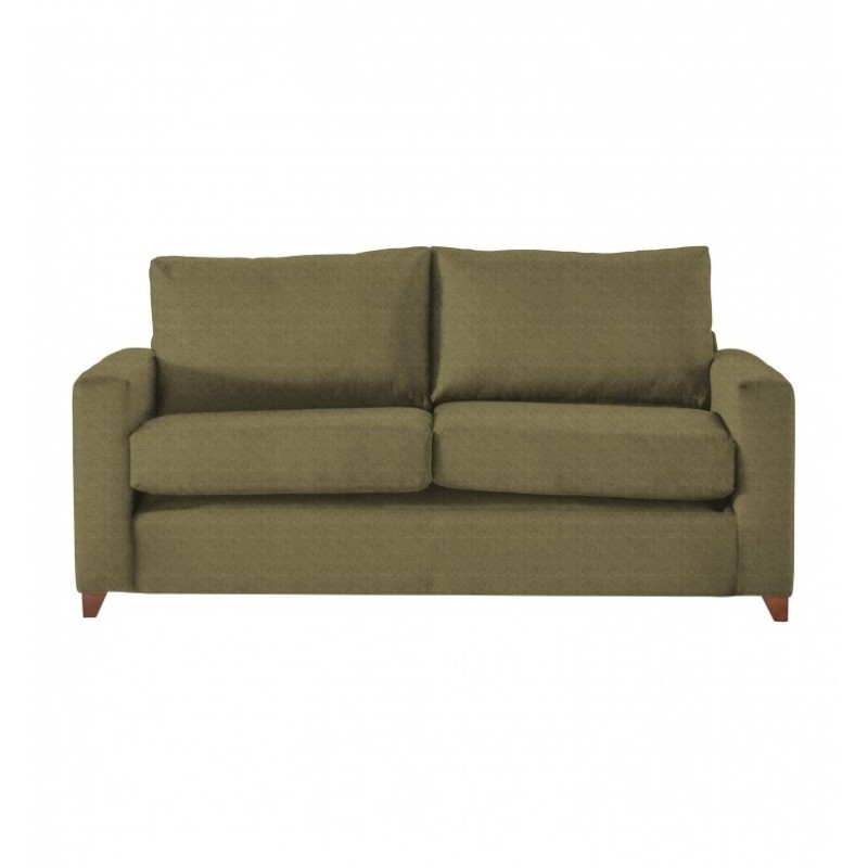 GA Hambleton Large Double Sofa in Brussels Olive
