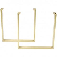 Base Tavola Brass (2/Set)