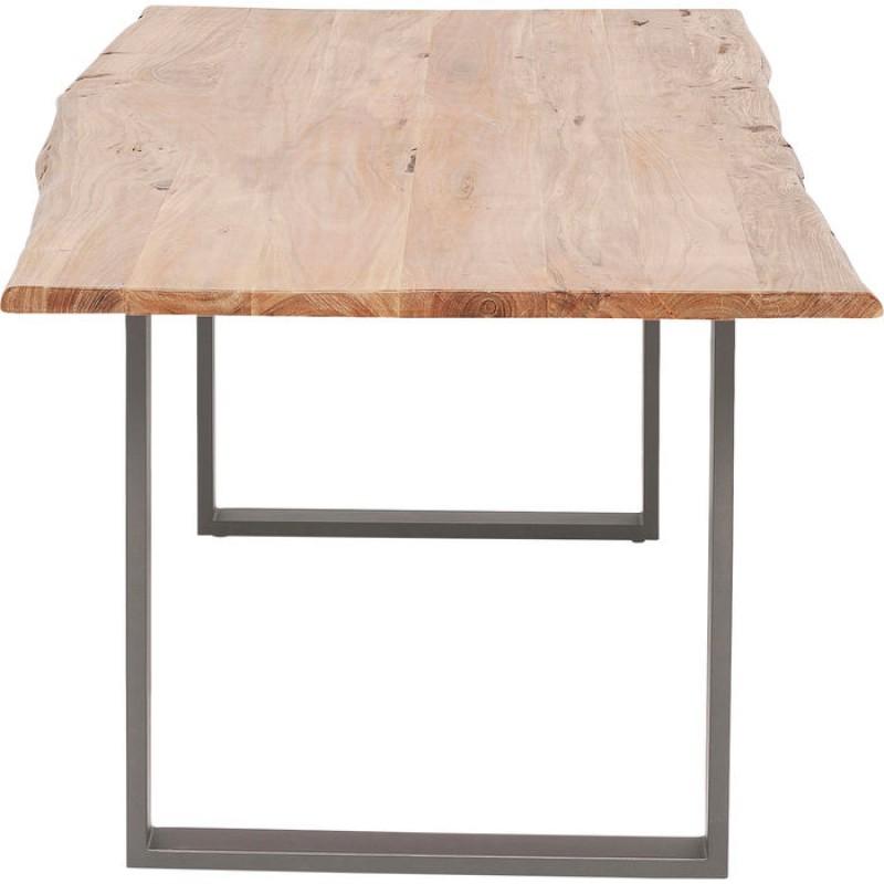 Table Harmony Crude Steel 160x80