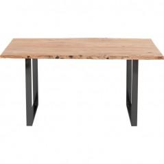 Bar Table Harmony Acacia Black 160x80cm