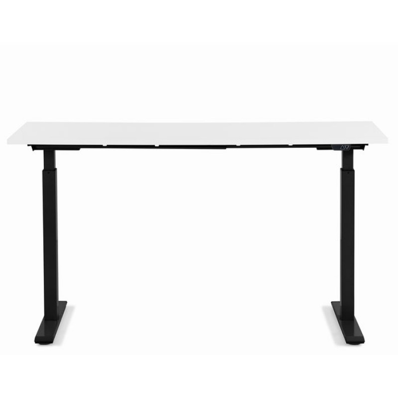 Desk Office Smart Black White 120x70