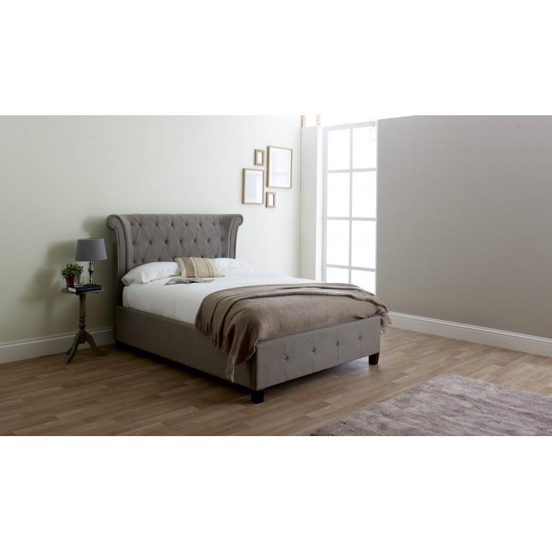 LL Epsilon Grey 5ft Ottoman Bed Frame