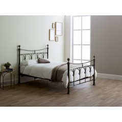 LL Gamma Antique Nickel 4ft6 Bedstead