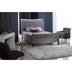 LL Larrisa Grey Marl 5ft Bed Frame