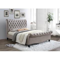 LL Larrisa Mink Velvet 6ft Bed Frame