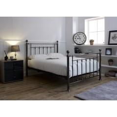 LL Libra Black Chrome 5ft Bed Frame