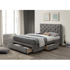 LL Monet Grey Marl 4ft6 Bed Frame