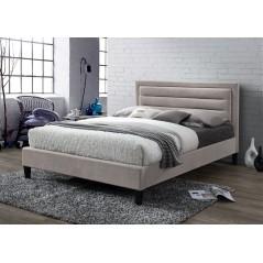 LL Picasso Mink Velvet 4ft Bed Frame
