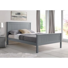 LL Taurus Grey 4ft6 Bed Frame