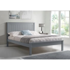 LL Taurus Grey with Low Footboard 5ft Bed Frame
