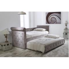 LL Zodiac Mink Velvet 3ft Day Bed