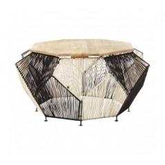 Fusion Coffee Table Octagon Black
