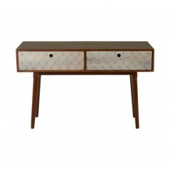 Costal Console Table Natural