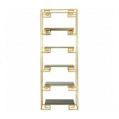 Horizon Bookshelf Angular Gold